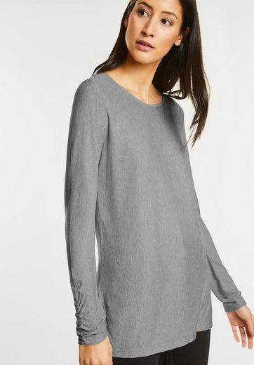 Street One Long-Shirt mit Schlitzen