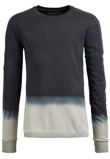 khujo Sweatshirt WENDOM, mit Farbverlauf
