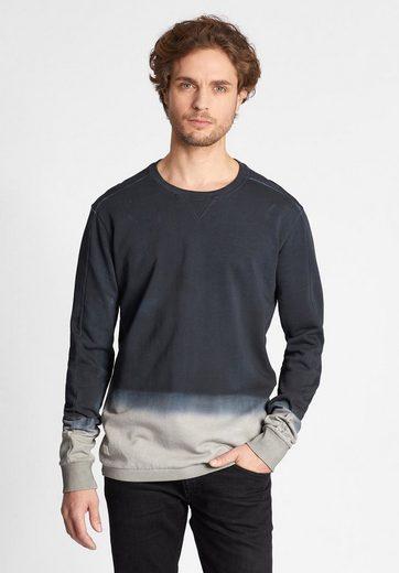 khujo Sweatshirt »WENDOM« mit Farbverlauf