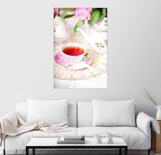 Posterlounge Wandbild »Zum Tee«