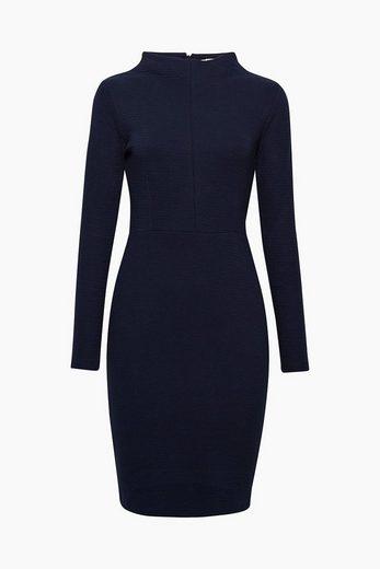 EDC BY ESPRIT Figurbetontes Kleid aus Jersey