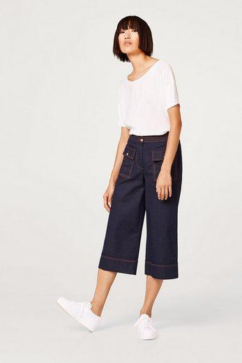 ESPRIT Blusen-Shirt mit trendiger Färbung