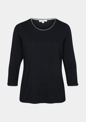 COMMA Jerseyshirt mit Ärmeln in 3/4-Länge