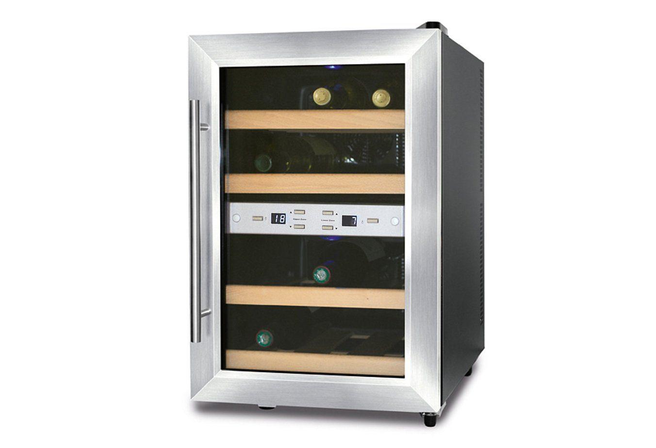 Kleiner Weinkühlschrank : Caso weinkühlschrank wine duett für standardflaschen á