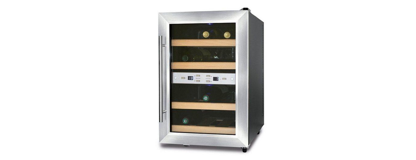 Caso Germany Weinkühlschrank »Wine Duett 12«, 54 cm, für 12 Bordeauxflaschen á 0,75l
