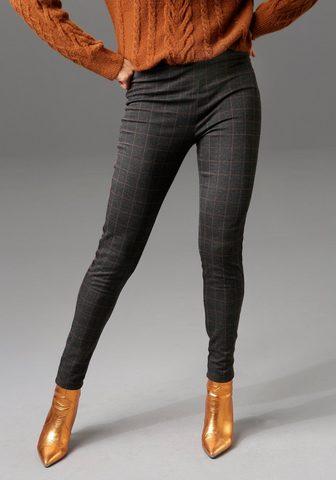 Aniston CASUAL Leggings su blizgantis Tape entlang de...