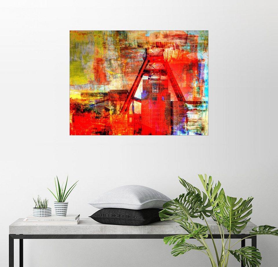 posterlounge wandbild nova art zeche zollverein. Black Bedroom Furniture Sets. Home Design Ideas