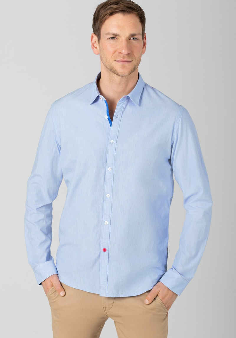 TIMEZONE Streifenhemd »Classic Microsripe Shirt«
