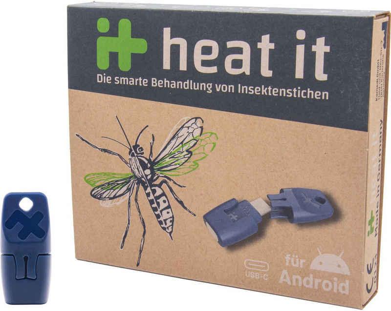 heat it Insektenstichheiler »heat it - für Android«, Smarte Behandlung von Insektenstichen