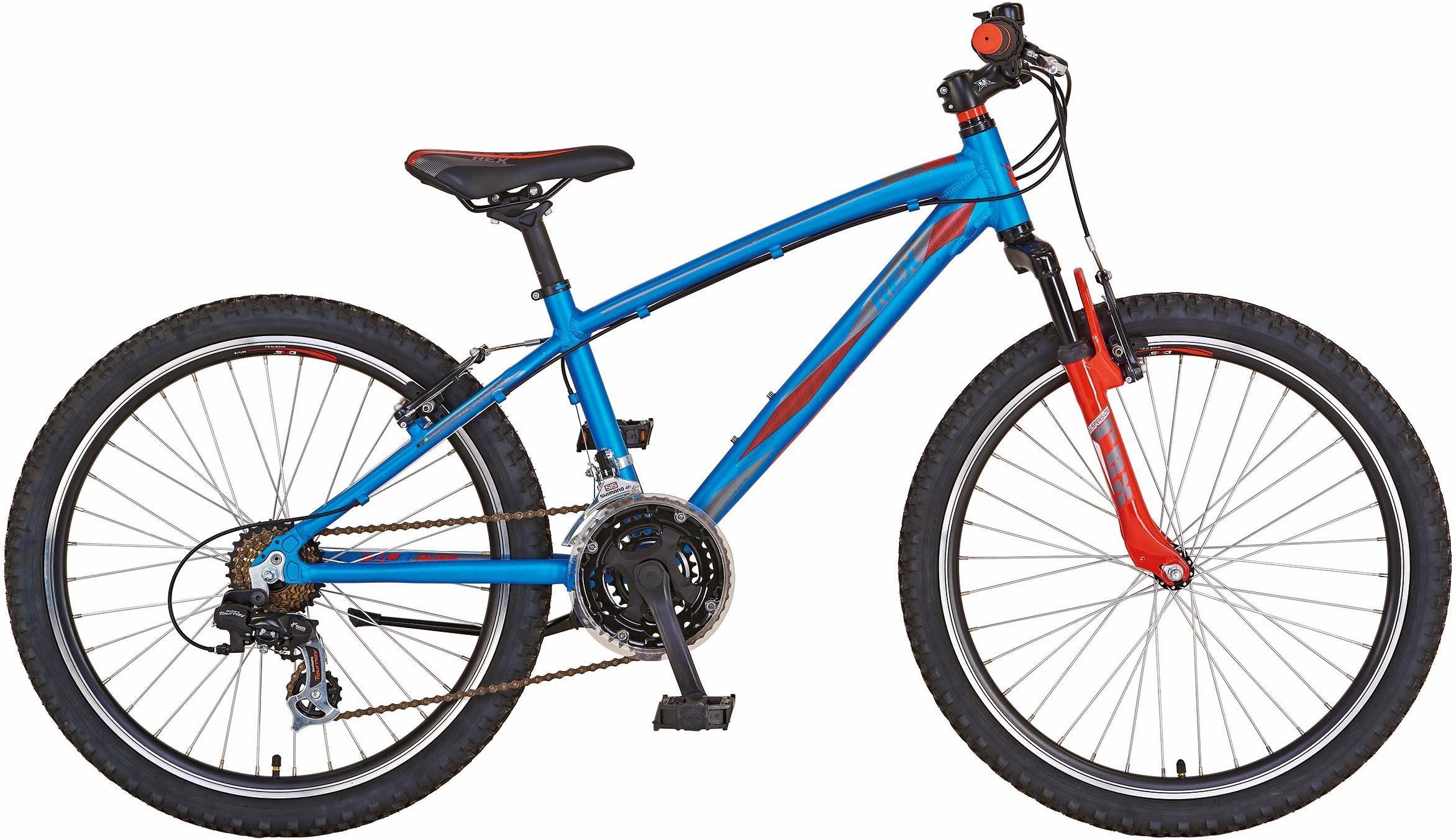 REX Bike Mountainbike »Graveler Junior/MTB«, 21 Gang Shimano, Kettenschaltung