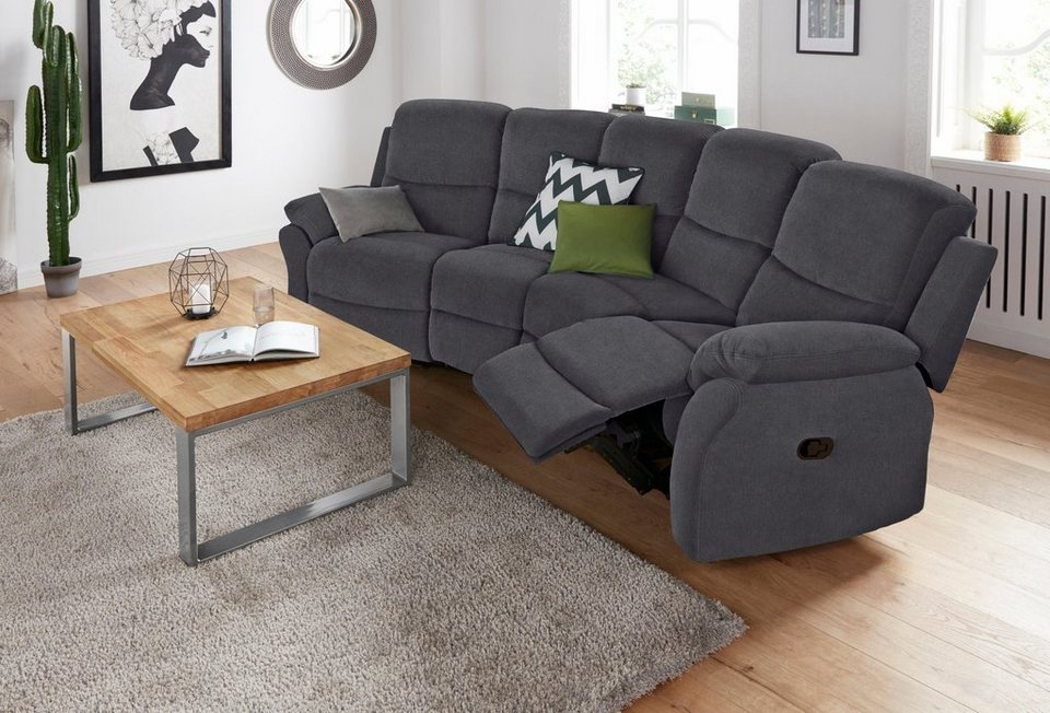 big sofa mit reclinerfunktion online kaufen otto. Black Bedroom Furniture Sets. Home Design Ideas