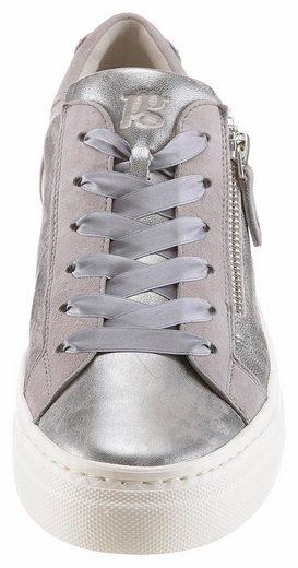 Paul Green Sneaker, mit feinem Metallic-Schimmer