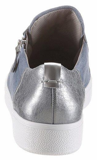 Paul Green Sneaker, mit schönen Glitzersteinchen