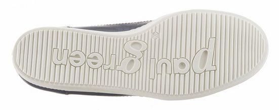 Paul Green Schnürschuh, mit seitlichen Reißverschluss