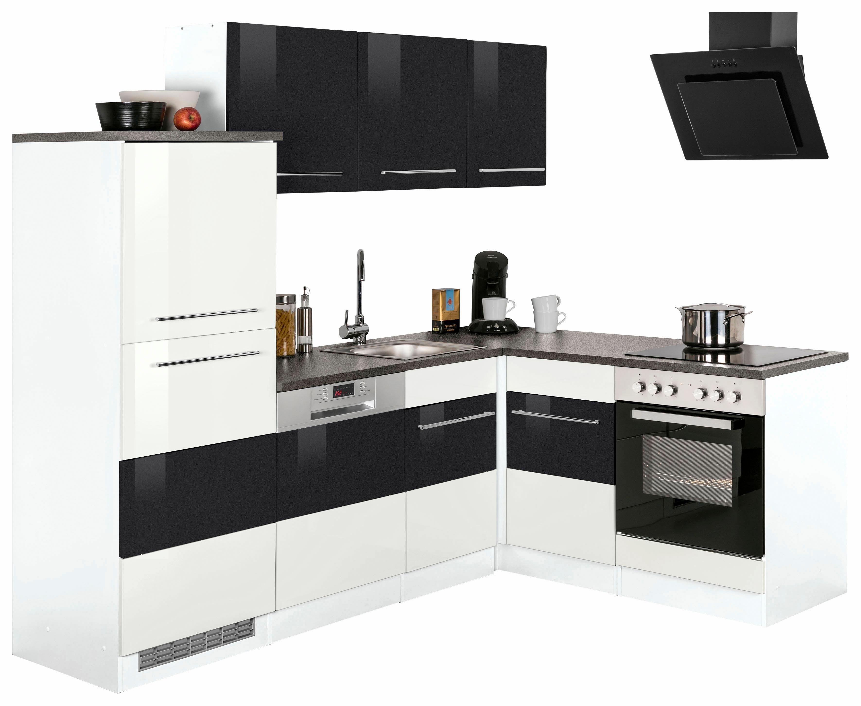 hochglanz-spanplatte Winkelküchen online kaufen | Möbel-Suchmaschine ...