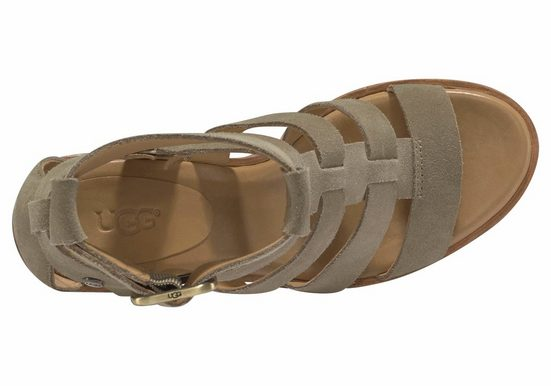 Ugg Macayla Sandalette, Strappy-look In Ankle-high