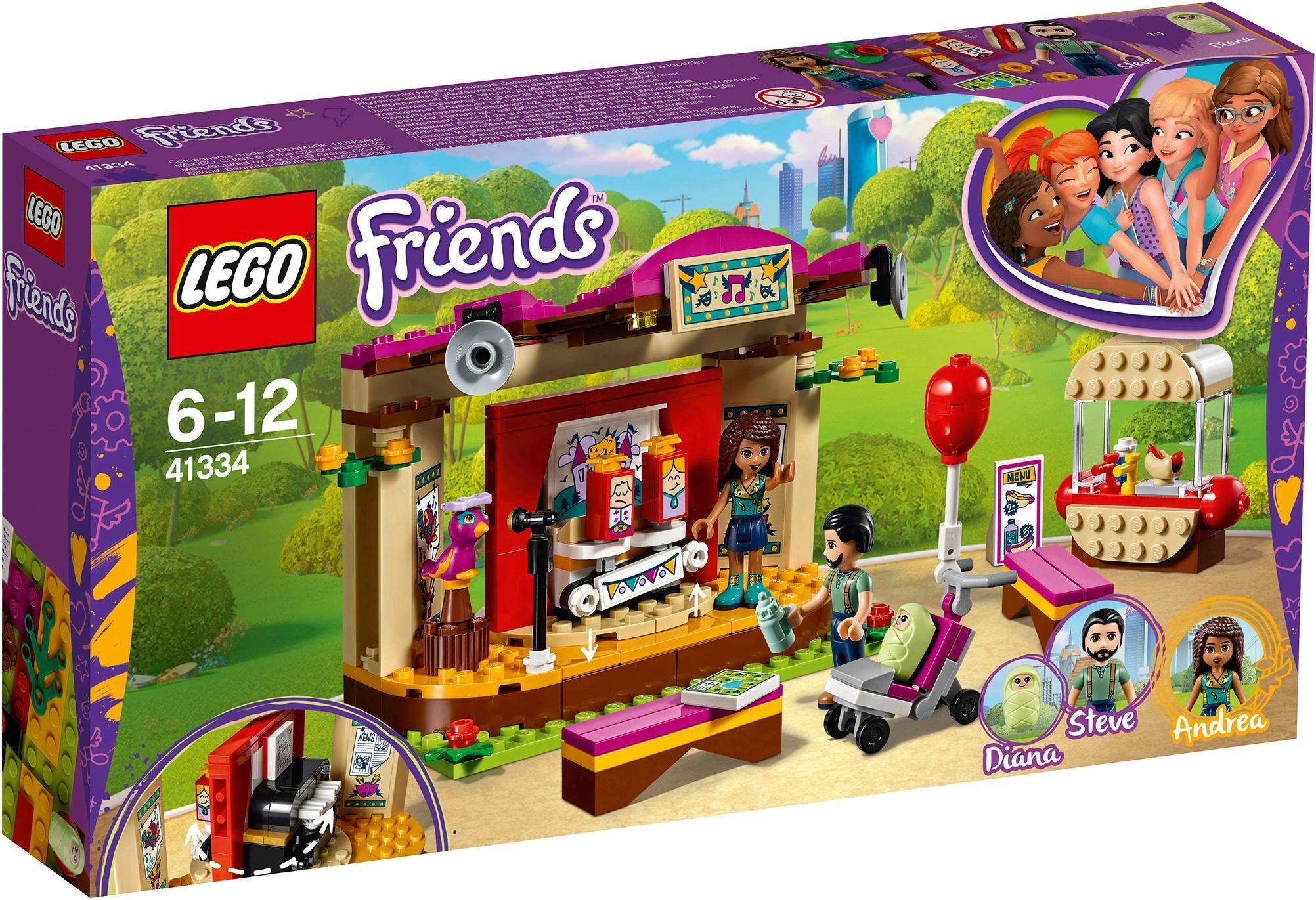 LEGO® Andreas Bühne im Park (41334), »LEGO® Friends«