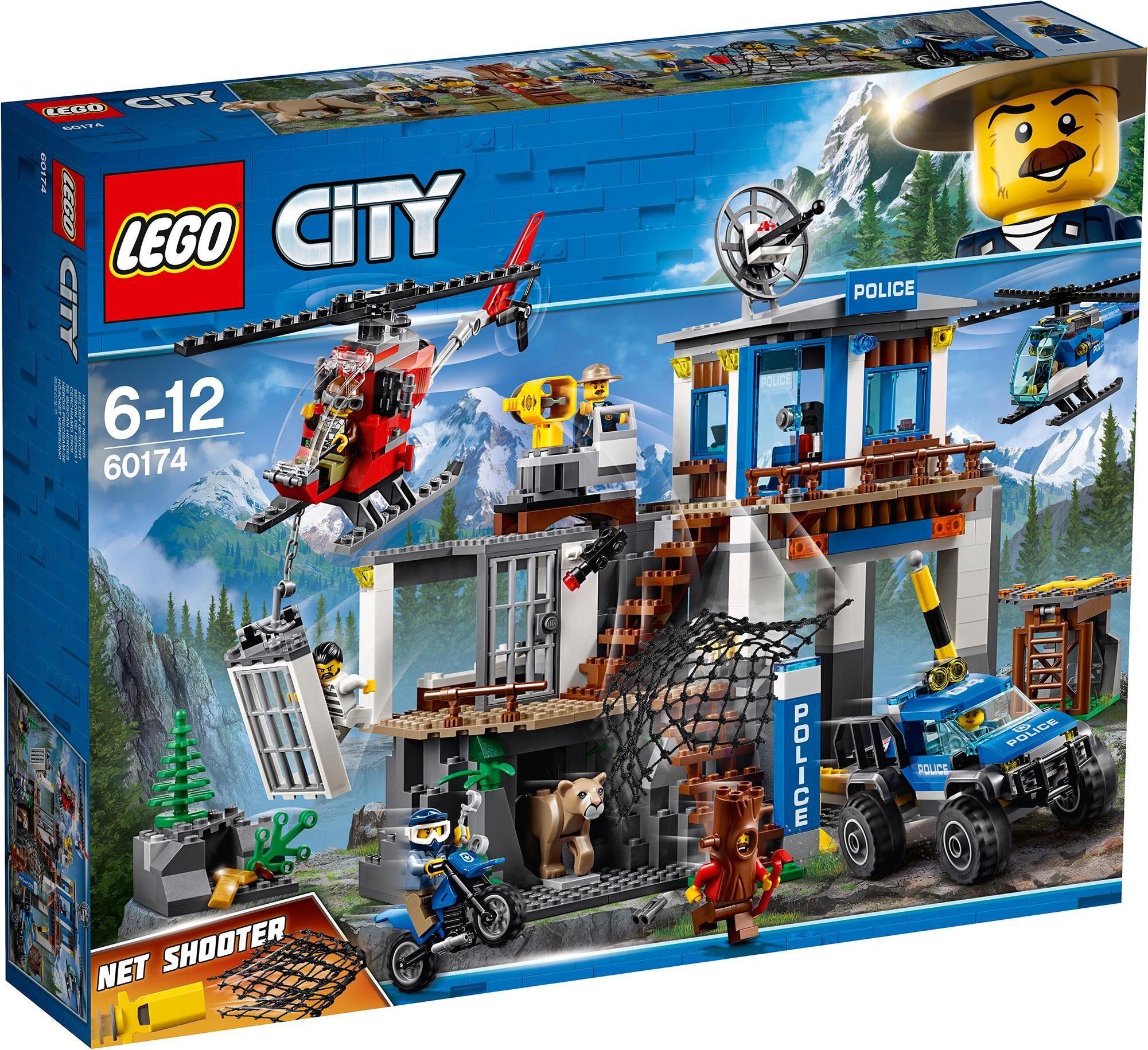 LEGO® Hauptquartier der Bergpolizei (60174), »LEGO® City«