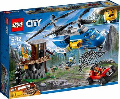 LEGO® Konstruktionsspielsteine »Festnahme in den Bergen (60173), LEGO® City«, (303 tlg)