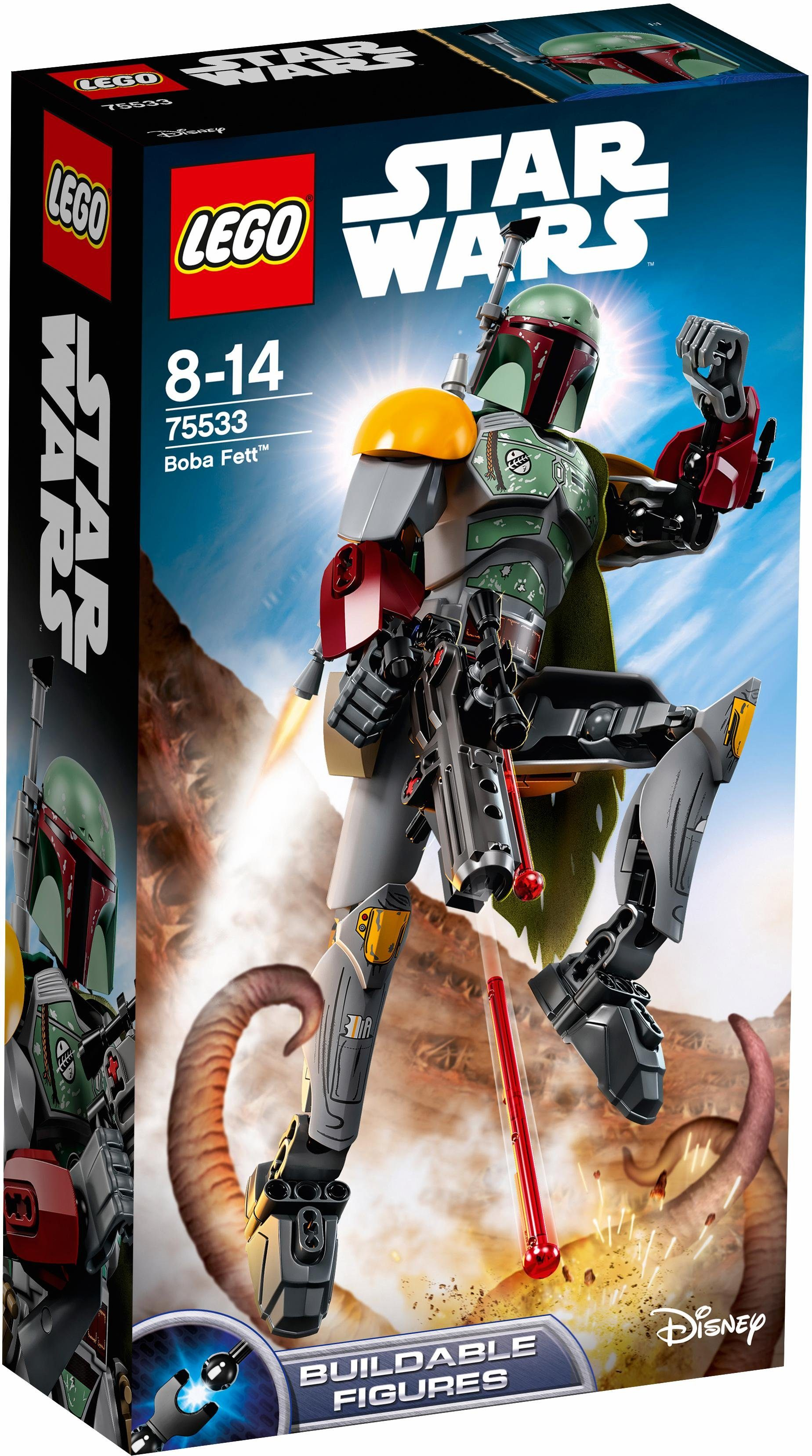 LEGO® Konstruktionsspielsteine »Boba Fett (75533), LEGO® Star Wars«, (20 tlg)