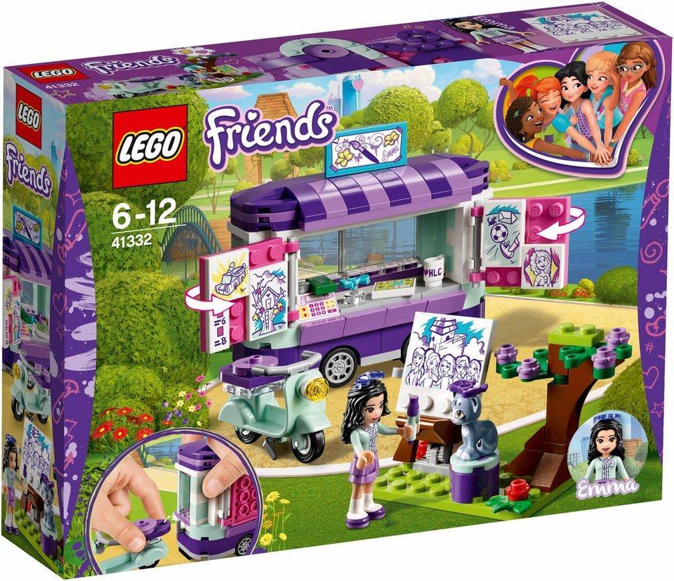 LEGO® Emmas rollender Kunstkiosk (41332),  LEGO® Friends  online kaufen