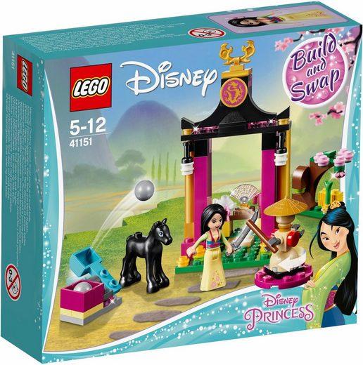 LEGO® Konstruktionsspielsteine »Mulans Training (41151), LEGO® Disney Princess«, (104 St)