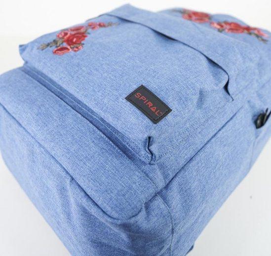 Spiral® Rucksack mit Laptopfach, OG Platin, rosegarden