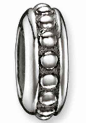 THOMAS SABO Bead »Karma Bead - Stopper, Nietenoptik, KS0006-585-12«