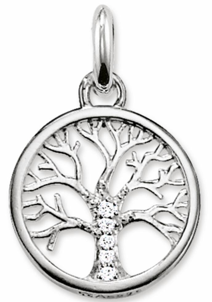 THOMAS SABO Kettenanhänger »Lebensbaum, KC0002-051-14«, mit Zirkonia