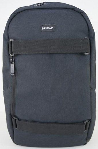 Spiral® Rucksack mit Laptopfach, Everest, blackout