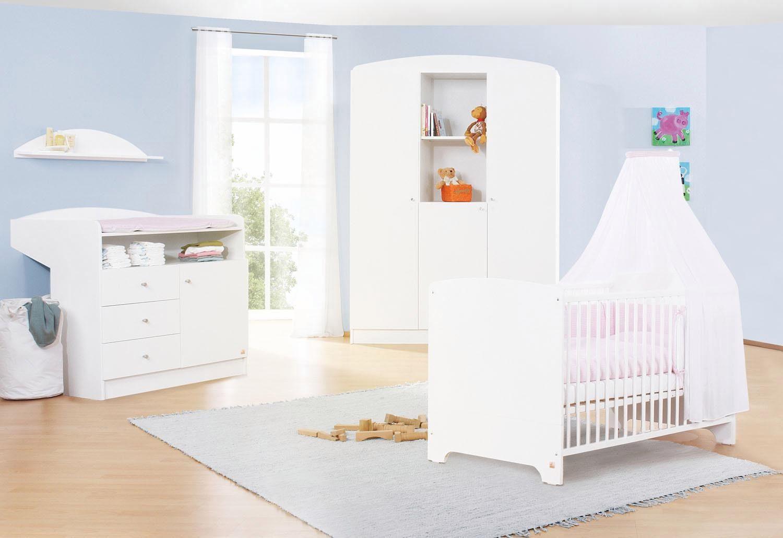 Pinolino Babyzimmer Set (3-tlg) Kinderzimmer, »Jil groß«