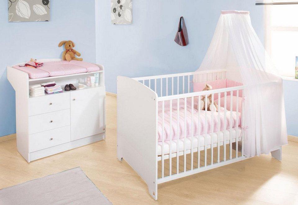 Pinolino babyzimmer sparset 2 tlg kinderzimmer »jil« online