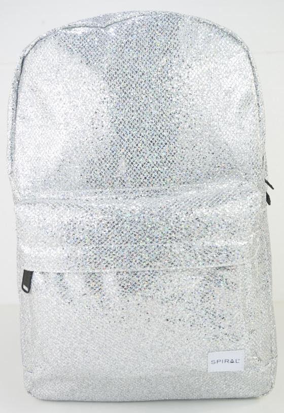 Spiral® Rucksack mit Laptopfach, »OG Platin, silver glamour«