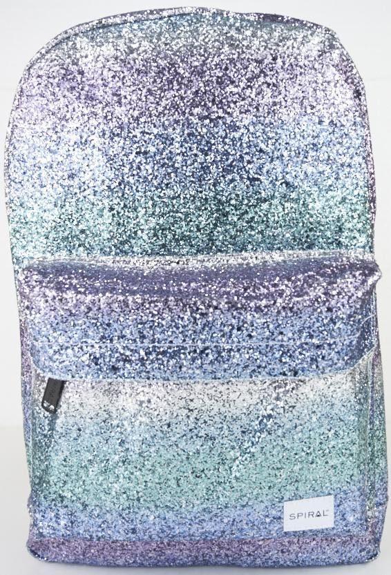 Spiral® Rucksack mit Laptopfach, »OG Platin, glacier jewels«