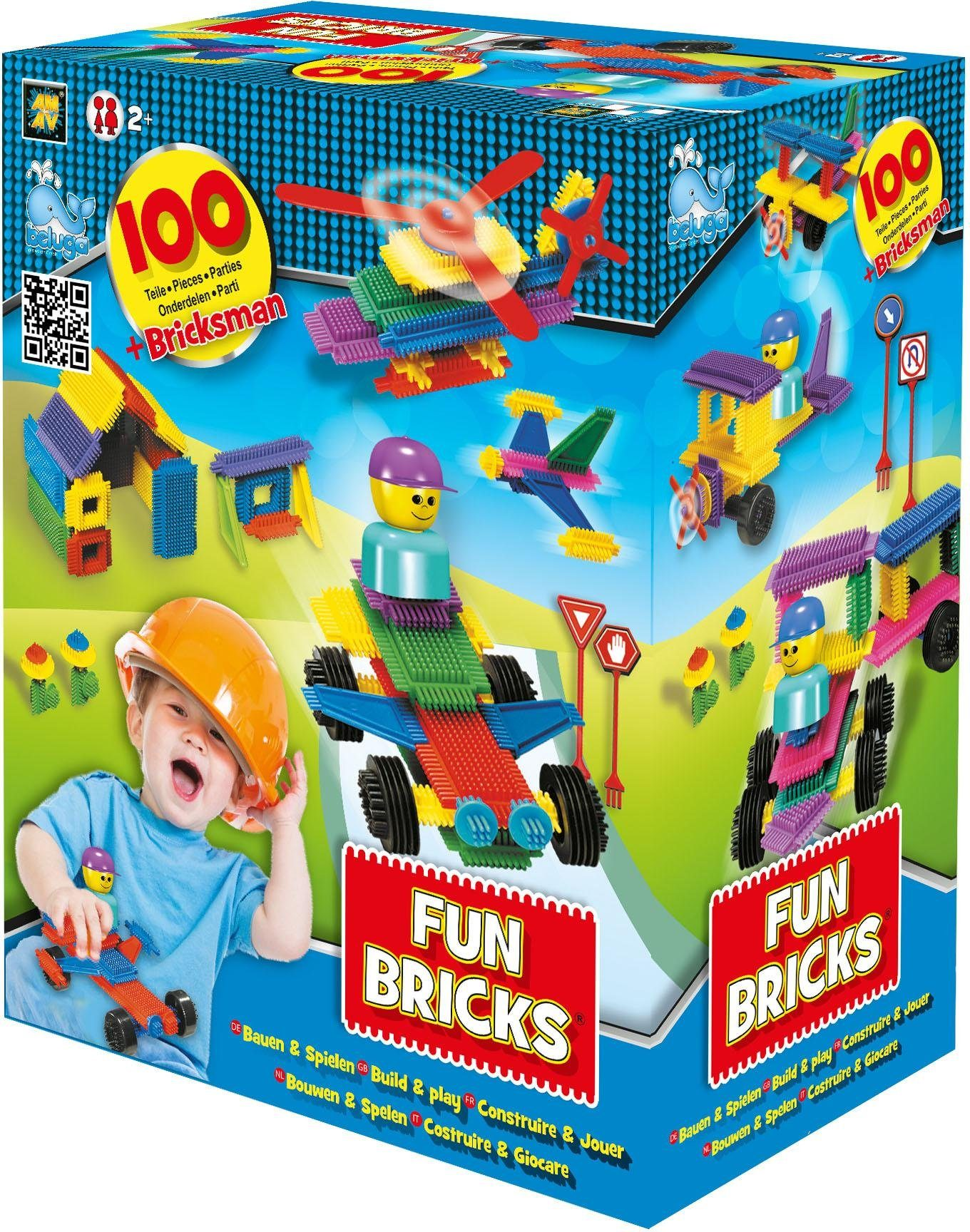 Beluga Bausteine, »Fun Bricks 100 tlg.«