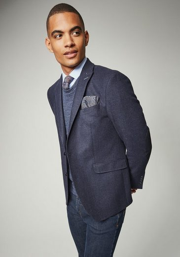 Pierre Cardin Suit Jacket Checkered With Pointed Lapel - Regular Fit Claude
