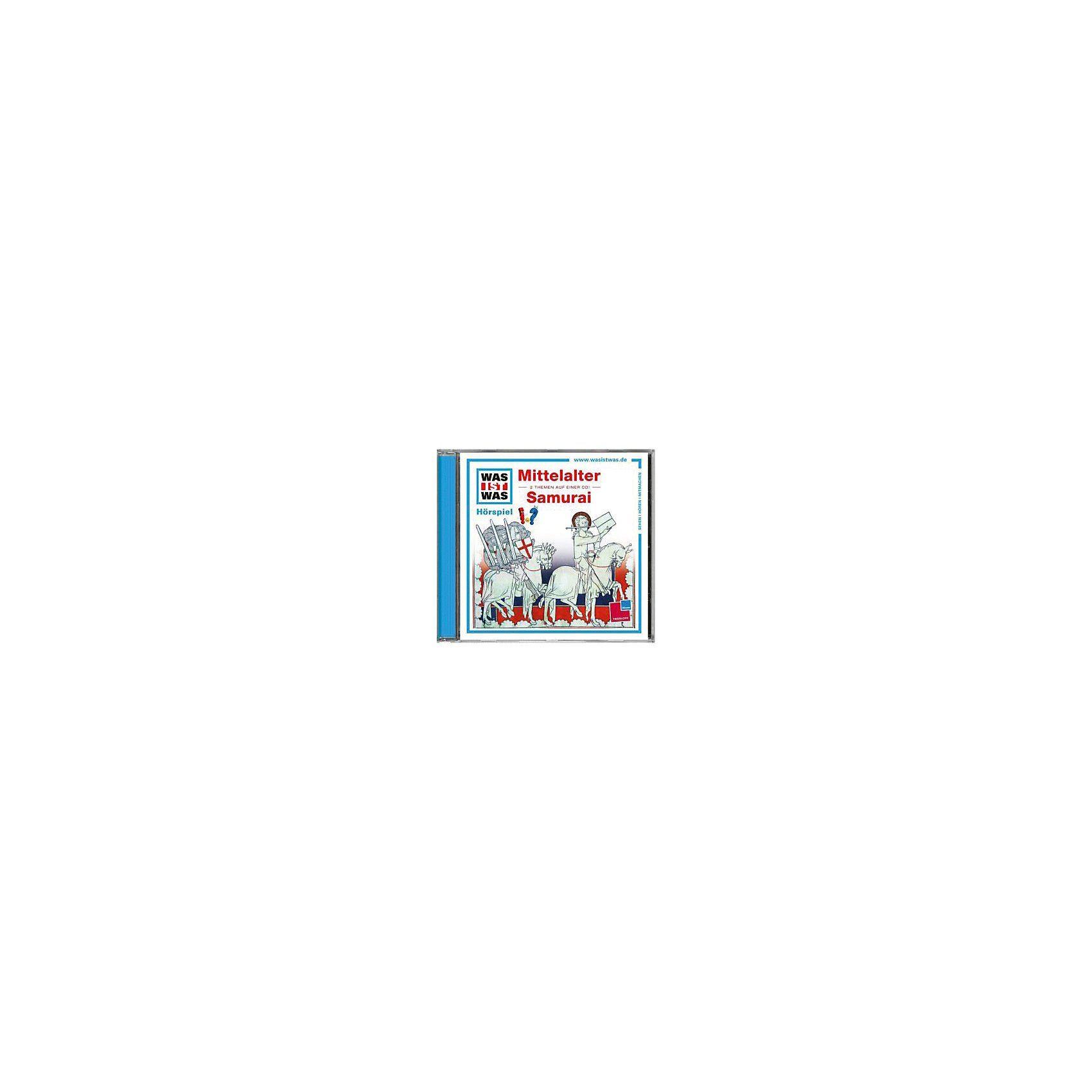 Tessloff Verlag WAS IST WAS Hörspiele: Mittelalter / Samurai, Audio-CDs