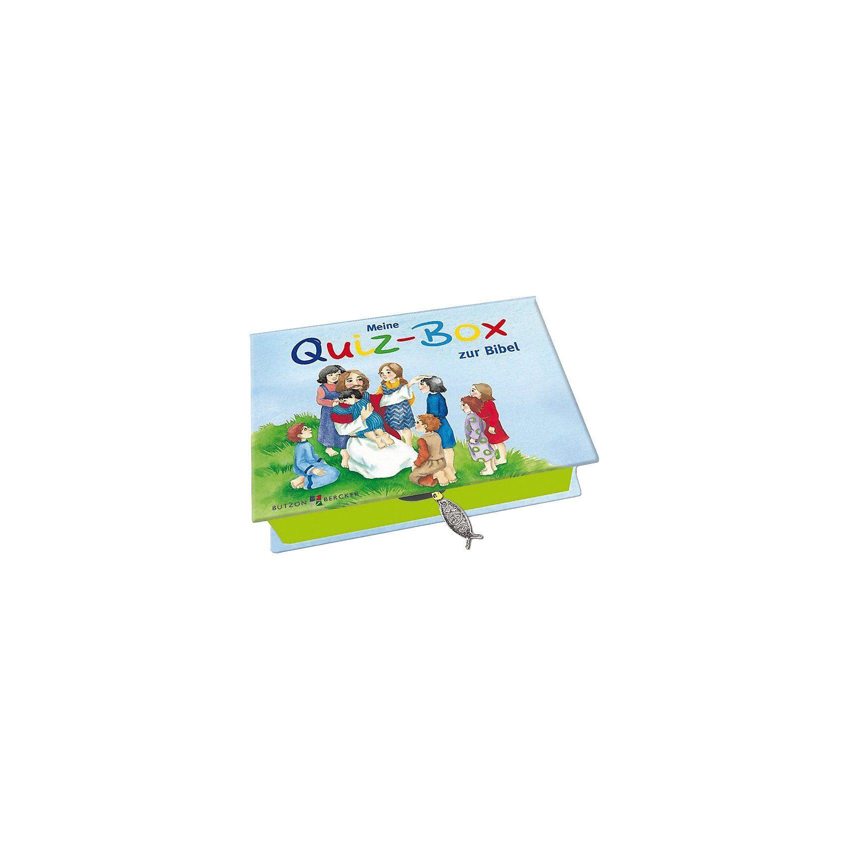 Butzon & Bercker Verlag Meine Quiz-Box zur Bibel