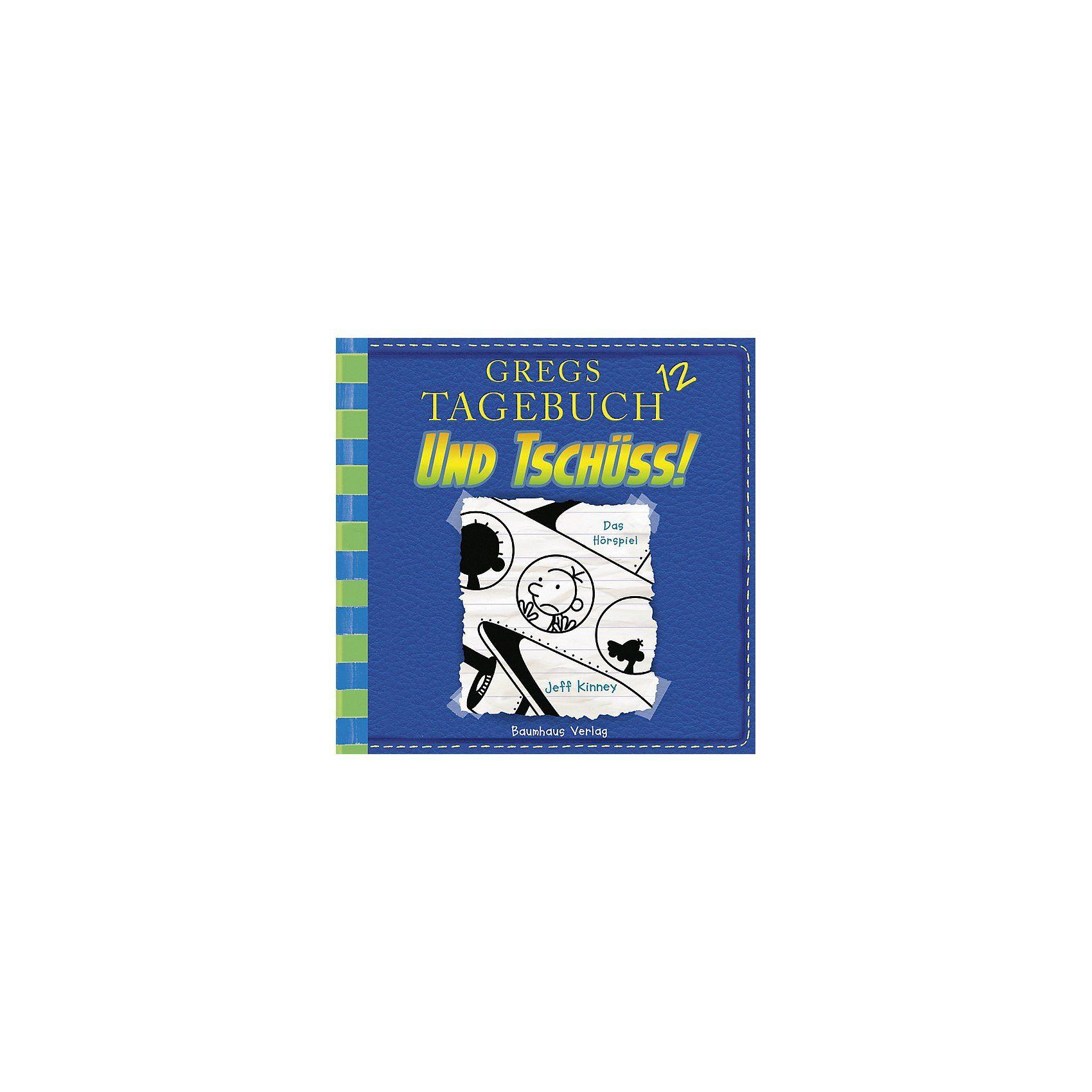 Baumhaus Verlag Gregs Tagebuch 12: Und tschüss!, Audio-CD