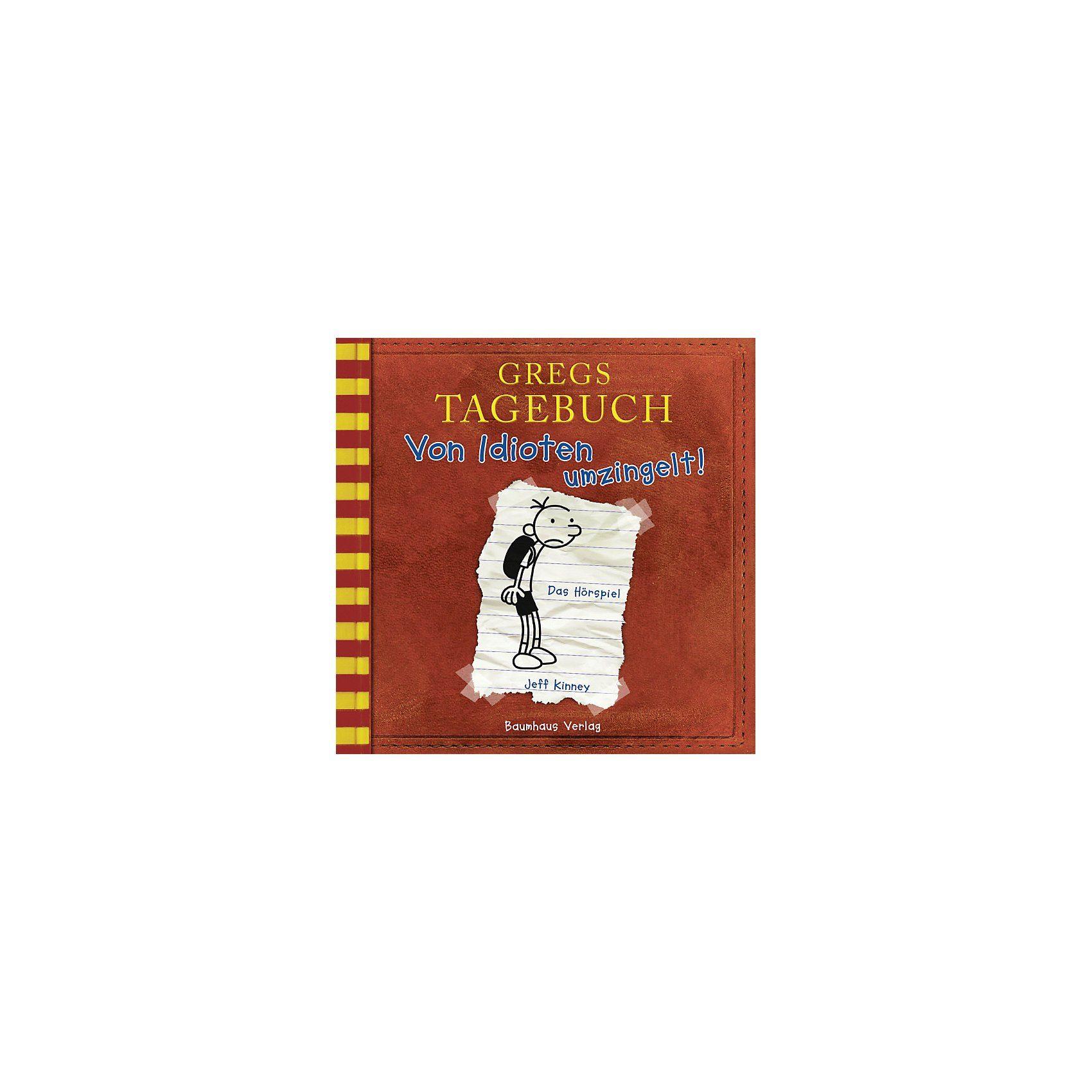 Baumhaus Verlag Gregs Tagebuch 1: Von Idioten umzingelt!, Audio-CD