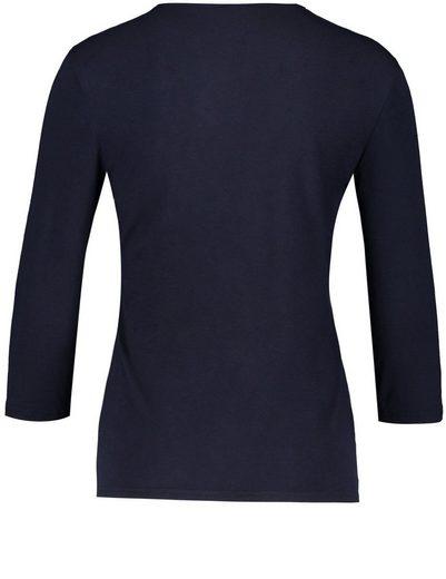 Gerry Weber T-shirt 3/4 Bras 3/4 Bras Chemise Mit Frontdruck