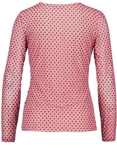 Gerry Weber T-Shirt 1/1 Arm Longsleeve mit seitlicher Raffung