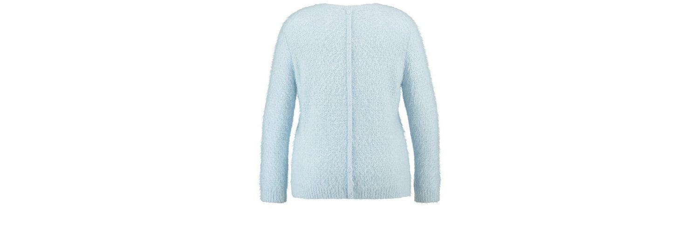 Samoon Pullover Langarm Rundhals Pullover aus weichem Flauschgarn Auslass Kaufen Preiswerte Qualität Verbilligte Erkunden Online 2018 Kühl S5YgfDgeh