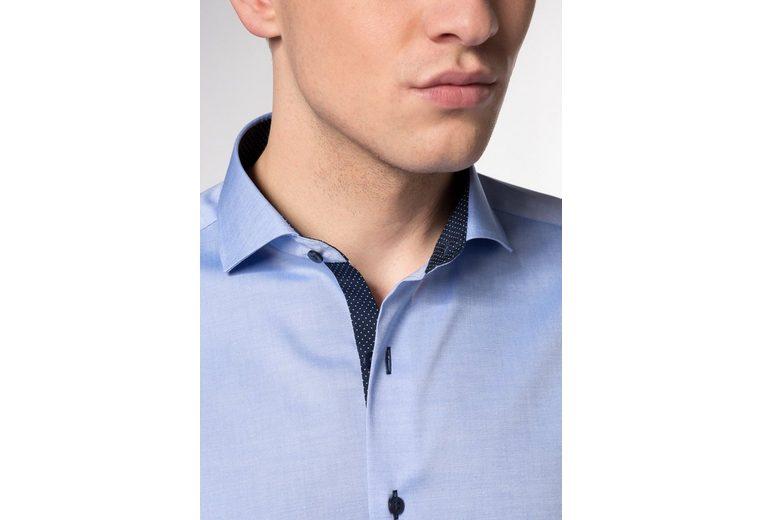 Offizielle Seite Gute Qualität ETERNA Langarm Hemd Langarm Hemd SLIM FIT ff7VXg