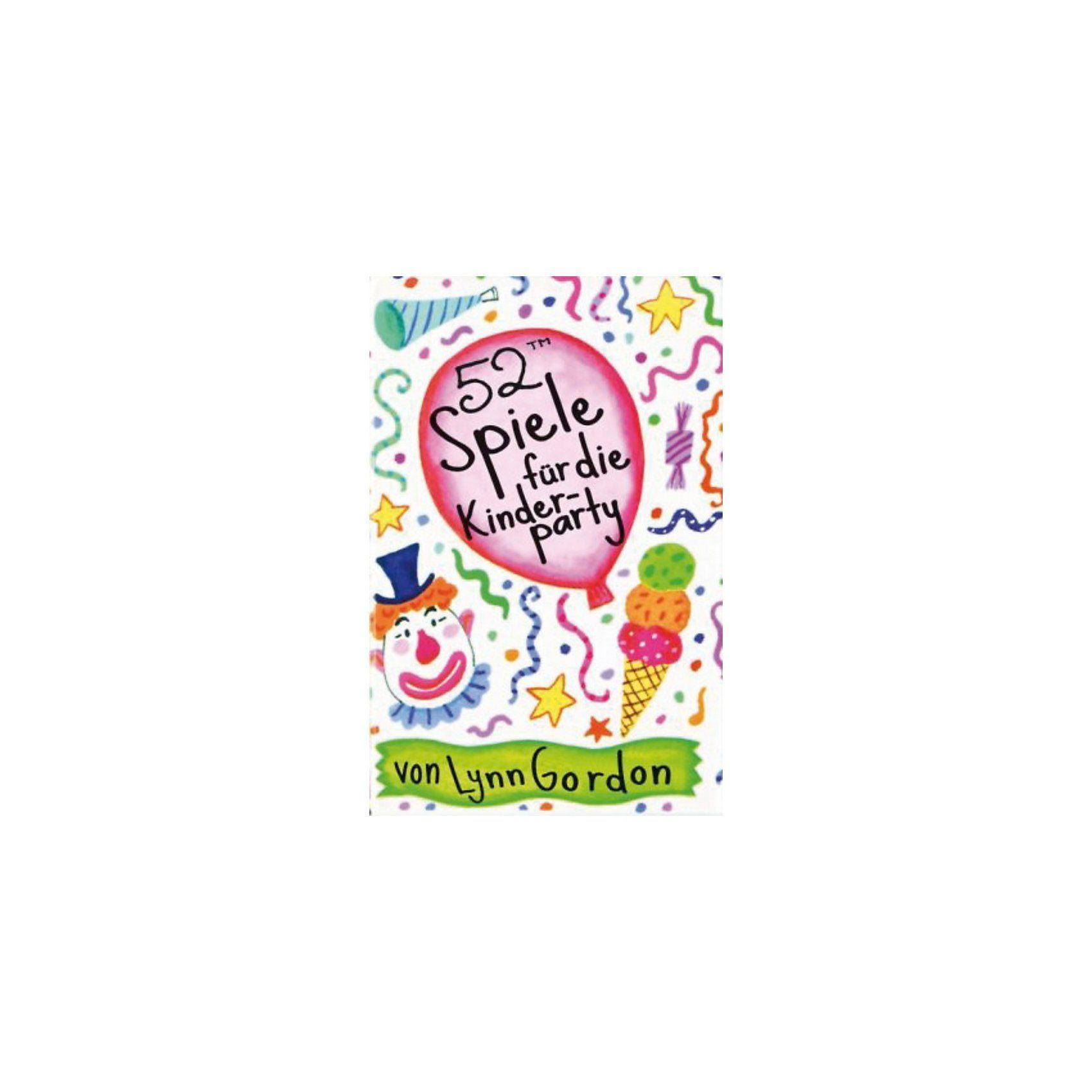 Kunstmann Verlag 52 Spiele für die Kinderparty