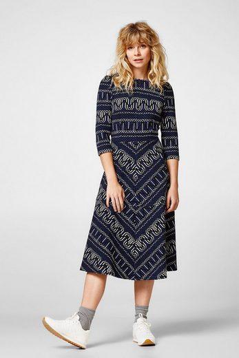 EDC BY ESPRIT Jacquard-Kleid aus Heavy Jersey