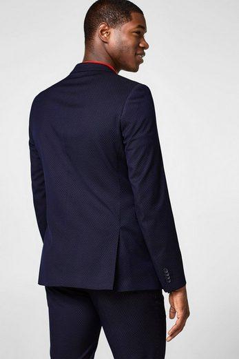 Esprit Collection Sakko Avec Motif À Pois Fins