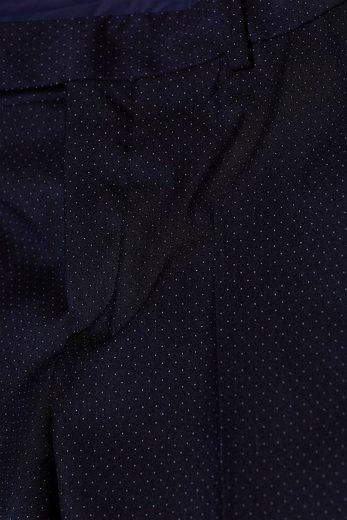 ESPRIT COLLECTION Anzughose mit feinem Punkt-Muster