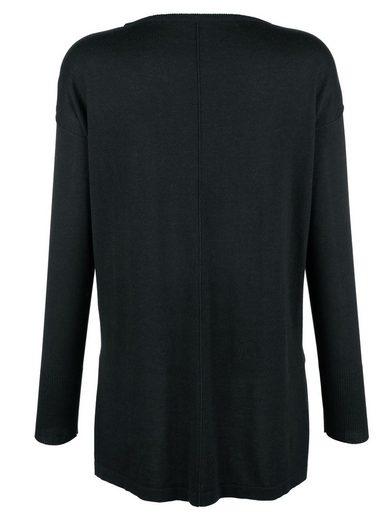 Alba Moda Pullover in softem Glattstrick