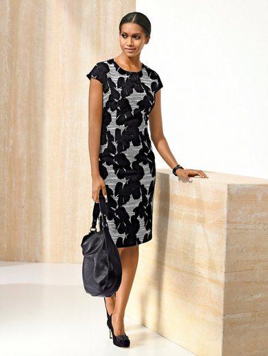 Alba Moda Kleid in wunderschönem Jacquarddessin